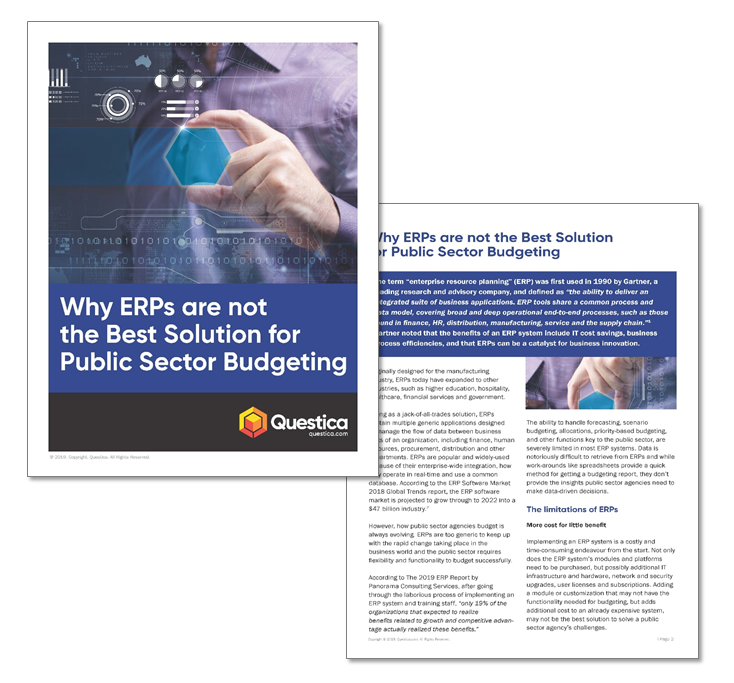 Whitepaper on Why ERPs aren't the Best Solution for Public