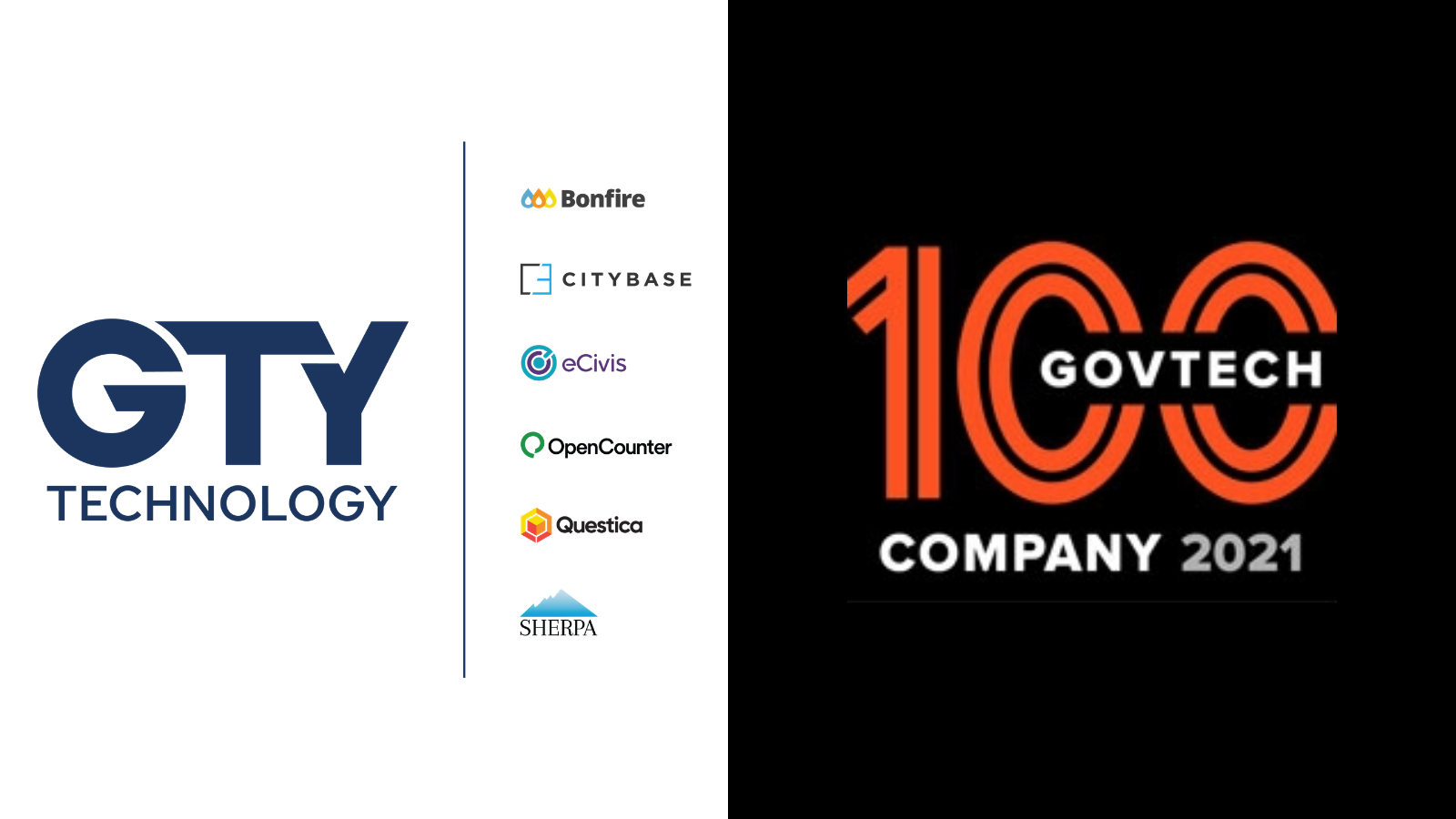 GTY Technology recognized as GovTech 100 Company for 2021
