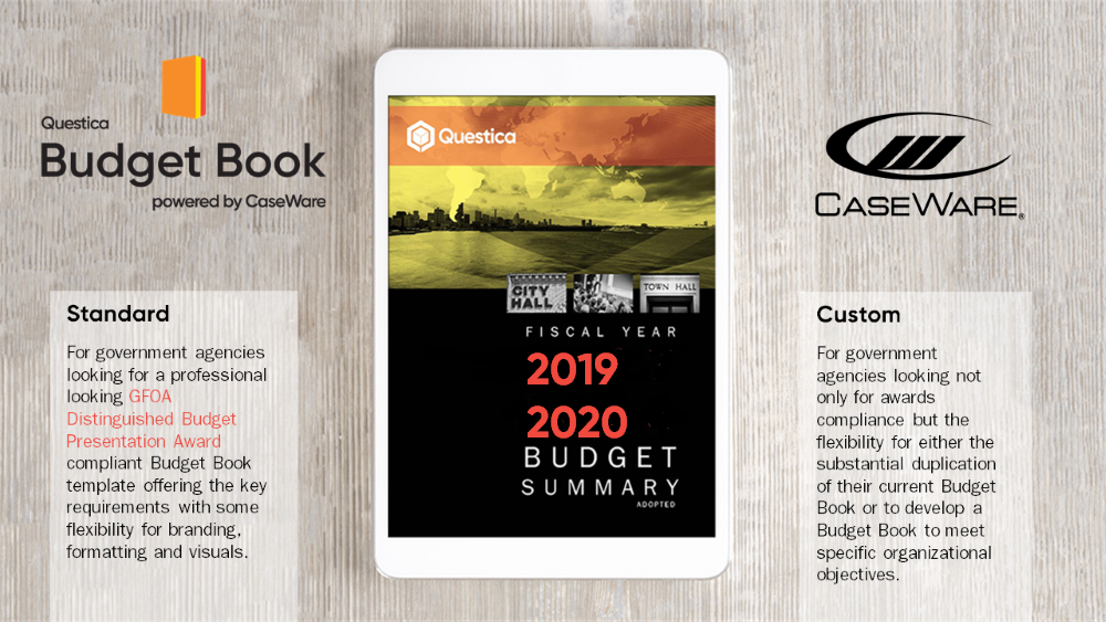 Questica Budget Book powered by CaseWare - 2019-2020 Budget Summary Adopted